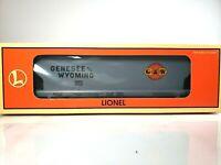 """Lionel 6-52113 TTOS 1997 Genesee & Wyoming Standard """"O"""" ACF 3 Bay Hopper NIB"""