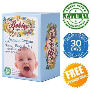 Immune System Boosting Tea for babies children infants toddler immunity herbs