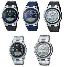 Casio AW82 AW82D  Men's Fishing Gear Analog Digital Alarm Chronograph Watch