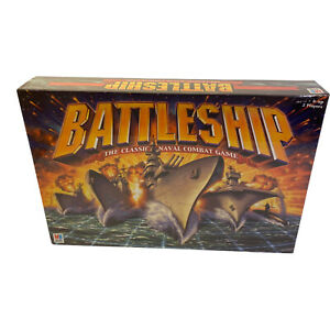 Hasbro Battleship The Classic Naval Combat Battle Stations Strategic Board Game