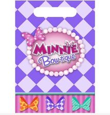 Minnie Mouse Favor Bags (8) Birthday Party Supplies Loot Treat Goody Bags