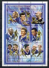 s7276) NIGER 1998 MNH** WC Football- CM Calcio S/S France football team