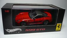 UN FERRARI 599 GTO 1:43 MATTEL HOT WHEELS ELITE