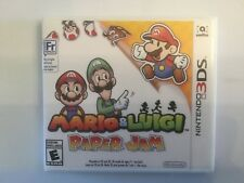 Replacement Case (NO GAME) Mario & Luigi Paper Jam - Nintendo 3DS