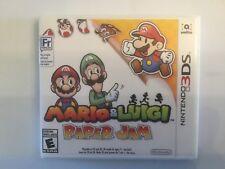 Replacement Case (NO GAME) Mario & Luigi Paper Jam - Nintendo 3DS