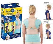 RINFORZO sulle spalle per correzione postura e dolore lombare di sostegno, regolabile, grande