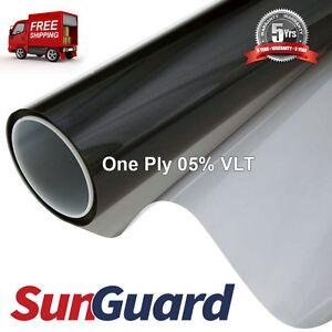 "Premium Tint Film Roll 60""x100' Professional Window Tinting  05% VLT 1 Ply"