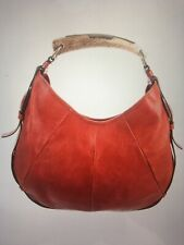 Yves Saint Laurent Red Leather Mombasa Bag
