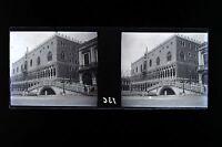 Venice Venezia Italia Placca Cuffie Stereo Negativi 45x107mm