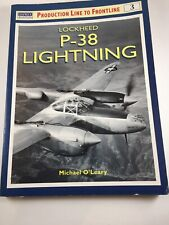 Osprey Aviation Lockheed P-38 Lightning by O'Leary  Soft-cover Book 1999 T2