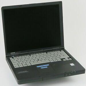 Compaq Armada M700 Pentium 3 @ 500MHz 256MB 6GB CD-ROM BIOS PW ohne NT  Retro