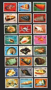 Wallis & Futuna ** Meeresschnecken (448-53, 460-65. 479-84, 501-06)