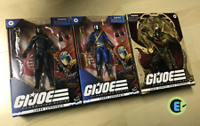 GI JOE Classified 6 inch Cobra Commander 3-pack exclusive! ALL CASE FRESH MINT