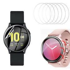 6 * TPU Clear Screen Protector for Samsung Galaxy Watch Active/Active 2  44/40MM