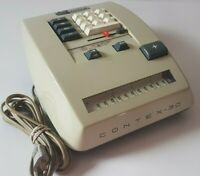 Vintage 60s CONTEX 30 CARLSEN Adding Machine Calculator Mechanical Denmark WORKS