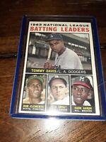 1964 Topps NL Batting Leaders Roberto Clemente Hank Aaron #7  vintage EX-MT!!!