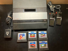 Vintage Atari 5200 Console w/ 2 Controllers, Atari Power Cord, 5 Games UNTESTED