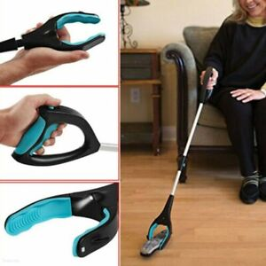 Foldable Pick Up Tool Easy Reach Grab Grabber Stick Extend Reacher QZ