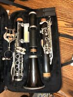 Leblanc France Normandy 4 Intermediate Wooden Clarinet With Protecting Case