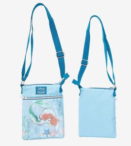 Loungefly Disney The Little Mermaid Ariel Passport Crossbody Bag Purse