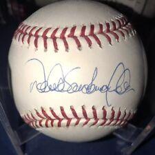 Derek Sanderson Jeter Autographed Baseball (full name)