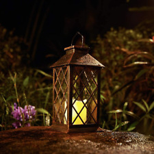 New listing Solar Lantern,Outdoor Lanterns,Waterproof Flickering Flameless Candle Lantern,So