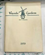 1959 Wayside Gardens Flower Seed Catalog 230+ pages Mentor Ohio Great Images