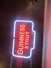 "Guinness Stout On Tap Neon Light Sign 24""x20"" Lamp Decor Poster Beer Bar"