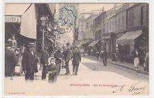 CPA 92270 BOIS COLOMBES rue des Bourguignons animation  Edit LE BRETON ca1904