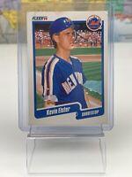 SHIPS SAME DAY Fleer Baseball Card Kevin Elster #202 New York Mets 1990