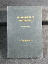 THE CHEMISTRY OF ACRYLONITRILE 2nd Edition 1959 American Cyanamid Company HC