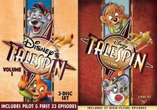 TALESPIN Volume 1 2 Complete DVD Set Series Collection TV Baloo Disney Animated