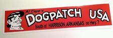 Dog patch USA bumper sticker decal hot rod rat rod vintage look nostalgia