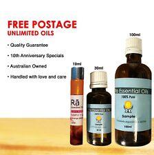 RA Essential Oil 100%PURE 10ml,30ml,100ml Aromatherapy •FREE POSTAGE• HI QUALITY