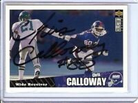 Chris Calloway 1996 Collector'S Choice  Auto Autograph