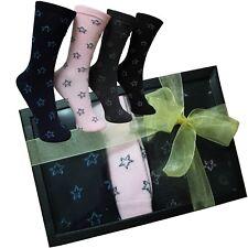 Calcetines Mujer Estrellas Caja Regalo Ideas Box Moda Chica Cumpleaños Fereti 10