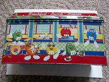 M&M's Brand Diner Metal Tin Limited Edition 1996 Christmas Village Series