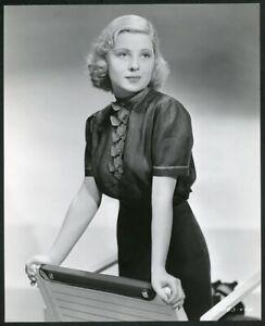 MARY CARLISLE Original Vintage 1938 PARAMOUNT PICTURES FASHION PORTRAIT Photo