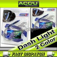 Type S 12v auto blu verde LED sigaretta Accendino Spina DASH Interior Mood Light