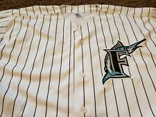 Florida Marlins VTG Majestic Authentic Collection Home Jersey Size 3XL (56)