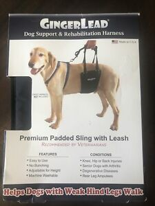GingerLead Dog Support & Rehabilitation Harness Medium (Medium/Large Female)
