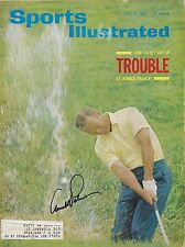 **GFA Sports Illustrated * ARNOLD PALMER* Signed SI Magazine AD2 COA**