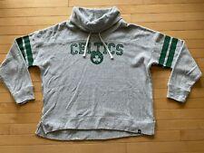 '47 NBA Boston Celtics Women's Floppy Collar Pullover Hoo Varsity Green Sz XL