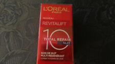 """L'OREAL REVITALIFT """"TOTAL REPAIR 10"""" SOIN DE NUIT MULTI-REGENERANT"""