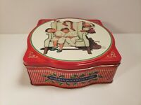 Vintage Snickers Norman Rockwell 1995 Limited Edition Holiday Tin Empty