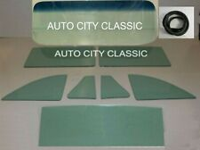 1949 - 1952 Chevy Tourback Glass Windshield Seal Vent Door Quarter Back Green