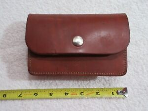 vintage Buchmeimer 52 20 shell leather magazine pouch lot T