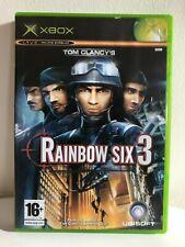 Xbox Original Tom Clancy's Rainbow Six 3 Game Xbox Live Enabled Ubisoft