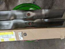 2 John Deere Blades for 42 deck.part UC22008