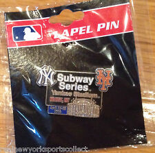 2015 NEW YORK METS VS YANKEES SUBWAY SERIES PIN YANKEE STADIUM 4/24-26 HARVEY